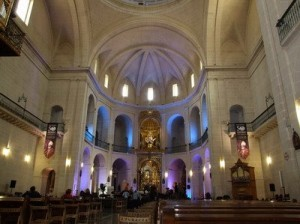 Concathedral of Saint Nicholas of Bari.Car Hire Alicante
