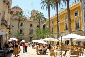 the Barrio. Car Hire Alicante